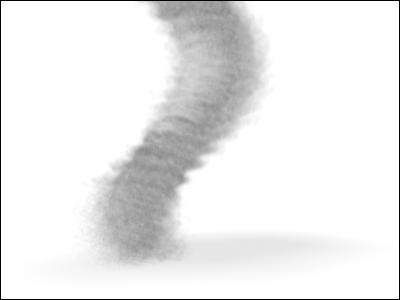 3D tornado in 3DS MAX